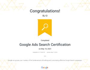 Google Ads Search Certification _ Google