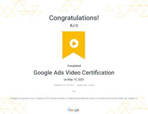 Google Ads Video Certification _ Google