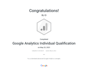 Google Analytics Individual Qualification _ Google