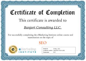 eMarketing-Institute-SEO-Certification